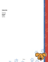 Letterhead: Pets & Pet Care